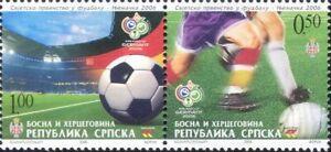 Bosnia Herzegovina 2006 Football World Cup/WC/Soccer/Sports/Games 2v set bhs1001