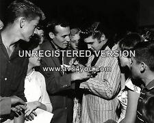 "Carl Perkins / Elvis 10"" x 8"" Photograph"