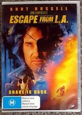 Escape From L.A. (Kurt Russell) DVD **BRAND NEW / SEALED** (Region 4)