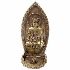 Thai Buda Incienso Quemador Soporte Para Pared De 21,5 Cm