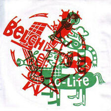"BELCH/LO-LITE Split 7"" . jon spencer white strippes oblivians chrome cranks"