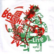 "BELCH/LO-LITE Split 7"" . jon spencer white strippes oblivians chrome cranks"