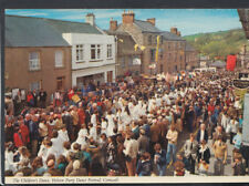 Cornwall Postcard - The Children's Dance, Helston Furry Dance Festival  RR4877