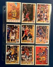 Scott's Destash - 1991 Upper Deck Earvin Magic Johnson Set of 9 cards