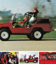 VW VOLKSWAGEN ILTIS Junge Leute Lifestyle Car Prospekt Brochure 1979 6