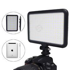 US Mcoplus LED Video Light Ultra Thin Lamp Bi-Color Temperature for Canon Nikon