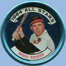 1964 - TOPPS COIN - ALL-STAR - BROOKS ROBINSON - BALTIMORE ORIOLES - No. 125