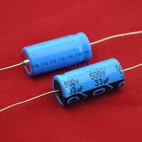 33uf 50v Axial Electrolytic Capacitors 50v33uf Nichicon for Audio 4pcs-