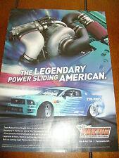 2006 PAXTON SUPERCHARGER  MUSTANG  ***ORIGINAL AD*** LEGENDARY
