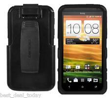 Seidio Rugged Convert Combo Case W/ Holster Clip For HTC EVO 4G LTE Sprint Black