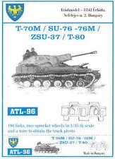 1/35 ATL96 FRIULMODEL WORKABLE TRACKS FOR SOVIET SU-76 T-70M ZSU-37 - PROMOTE