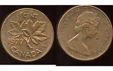 CANADA 1 cent  1977  ( bis )