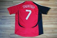 GERMANY NATIONAL TEAM 2006/2008 AWAY FOOTBALL SHIRT JERSEY TRIKOT SCHWEINSTEIGER