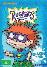 RUGRATS : COMPLETE SEASON 2   -  DVD - Region 2 UK Compatible - New & sealed