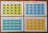20 x Liechtenstein 460 - 463 KB postfrisch Kleinbogen Satz Naturschutz Mi.87 €