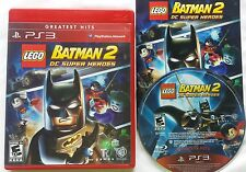 PS3 LEGO BATMAN 2 DC SUPER HEROES GREATEST HITS SONY PLAYSTATION 3 VIDEO GAME @@
