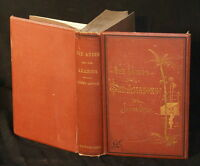 """1876: The Andes And The Amazon; by James Orton. 3rd Edition.5.5"""" x 8"""" with 645 p"""