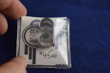 """Sunka Akicita piercing pair of stainless steel ear tunnels 1/2"""""""