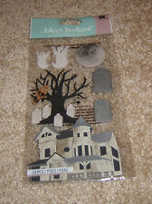 "EK Success Jolee's Dimensional Sticker  ~  Halloween ""Haunted House"""