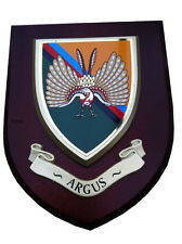 ARGUS 14th Intelligence Regiment Military Wall Plaque UK Hand Made for MOD