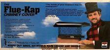 "Flue Kap Chimney Cover Model #14 8""x13"" (34-11-4904) Adjustable 7x13 To 9.5x14"