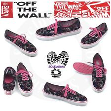 Vans HELLO KITTY Authentic Black Passion Flower W10.5