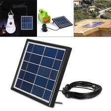 Solar Panel 5V 3W Polycrystalline DC Interface Plug Cell Battery Charger DIY Kit