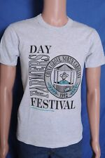 Vintage '90s 1992 Farmers Day Festival China Grove NC gray t shirt S