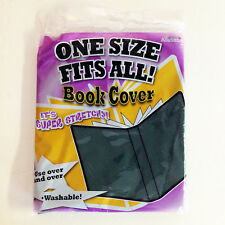 """It's Academic One Size Fits All Book Covers, Green - 13 7/8"""" x 7 7/8"""" - Lot of 4"""