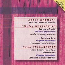 Arensky/Myaskovsky/Szymanovsky - Overture a dream on the volta - CD -