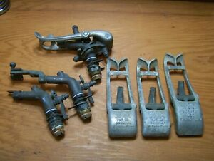 Vintage Buckner No.512 Brass and Aluminum Impact Sprinkler 512 and 512M Parts