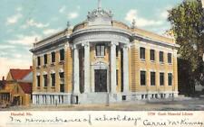 GARTH MEMORIAL LIBRARY Hannibal, Missouri 1907 Vintage Postcard