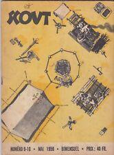 REVUE BIMENSUELLE SCOUT N° 9 et 10  MAI 1959  - scouts, scoutisme