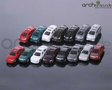20 x Model Cars BMW / Porsche etc. for Diecast 1:150, Railway N Gauge