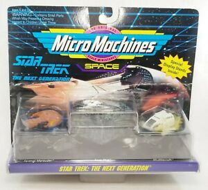 Star Trek: The Next Generation Micro Machines With Special Display Stands NEW