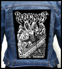 REPUGNANT - Draped in Cerecloth --- Huge Jacket Back Patch Backpatch