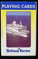 Vintage deck Of Playing Cards - Brittany Ferries -