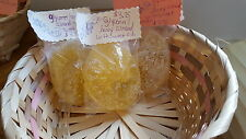 Homemade soap-honey glycerin bath soap with sweet almond essential oil