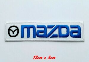 Mazda Racing Jacket Motorsport Iron on Sew on Embroidered Patch