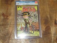 Walking Dead #103 October 2012 Number 1 Cover Swipe Variant White Pages CGC 9.8