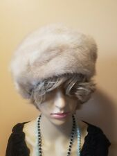 Vintage Light Colored Mink Hat NwTs Very Pretty Excellent condition