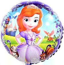 R20F10 Prinzessin Krone Baby Sofie Helium Folienballon Mädchen Geschenk balloon