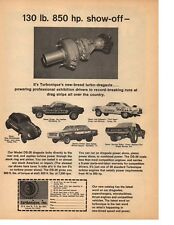 1966 TURBONIQUE TURBO-DRAGAXLE ~ ORIGINAL PRINT AD