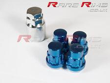 Blue Locking Wheel Nuts x 4 12x1.5 Fits Mazda Mx3 Mx5 Mx6 Rx7 RX8 3 6 5 MPS