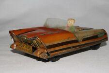 Linemar 1955 Futuristic Tin Friction Car, Original