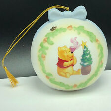 Winnie Pooh Christmas Ornament Walt Disney figurine one little star porcelain