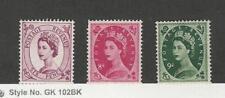 Great Britain, Postage Stamp, #325. 327-328 Mint LH, 1955-56