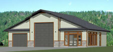 50x42 1-Car 1-RV Garage 1 Br 1 Ba - PDF FloorPlan - 1,973 sqft - Model 1M