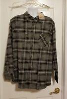 New Field & Stream Men's Plaid Flannel Classic Lightweight Long Sleeve Shirt