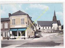 CPSM 14290 LA CHAPELLE YVON Le Bourg Eglise Alimentation générale Edit SPADEM